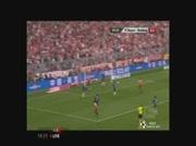 Bayern Munich 1-0 Hambourg   But Robben 40e