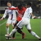 Resume Lyon Rennes 1-1 ( Premiere mi temps )