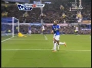 Everton 2-0 Fulham | But Saha 49e