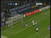 Schalke 1-0 Inter Milan - But Raul 45e