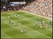 Manchester United 2-0 Chelsea | But de Vidic 23e