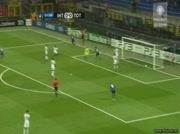 Inter  vs Tottenham LDC 20 octobre 2010 4-3 ( Zanetti 1-0 )