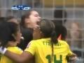 But de folie Erika joueuse Bresilienne