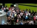 Bagarre euro 2012 Tchéques vs Russes.