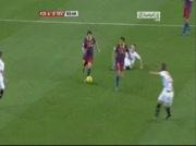 Résumé match Barcelone 5 - 0 Séville (2/2) le 30-10-2010