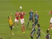 Benfica 4-3 Lyon LDC le 2/11/2010