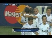 Milan 0-1 Real Madrid le 3/11/2010 ( but Higuain )