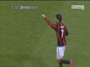 Milan AC 1-0 Palerme ( goal Alexandre pato 19' )