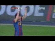 Barcelone 3 - 1 Villareal ( goal Messi 58e )