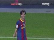 Barcelone 3-1 Villareal ( goal Messi 83e )