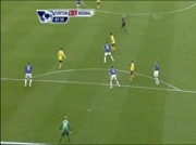 Everton - Arsenal : 1-2 (goal C. Fabregas 48e)