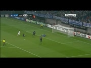 Schalke 3-0 Olympique Lyon | 2eme But de Huntelaar