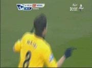Aston Villa 0-2 Arsenal | But de Samir Nasri