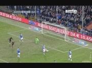 Sampdoria 0-1 AC Milan   But de Robinho