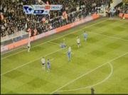 Didier Drogba loupe penalty Totteham vs Chelsea 90e