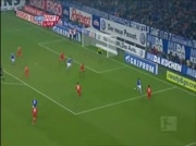 Triple de Raul avec Schalke !