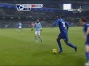 Manchester City 0-2 Everton | But Baines 19e
