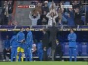 Mourinho chambre le banc de Villareal
