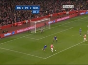 Arsenal 1-0 Ipswich Town | But Bendtner 61e