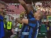 Inter Milan 2-1 Genoa | But de Etoo 51e