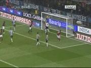 Milan AC 1 - 2 Juventus de Turin ( but Zlatan Ibrahimovic )