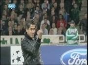 Doigt d'honneur Messi d'un supporter grec !