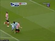 Manchester City 2-0 Sunderland | But Tevez 15e
