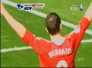 Manchester 1-0 Fulham But Berbatov 12e