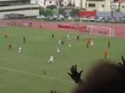 But de Franklin Lucena ( caracas ) contre Atlético Venezuela