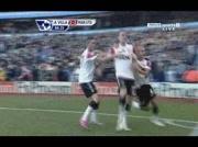 Aston Villa 2-2 Manchester united ( Vidic 85e )