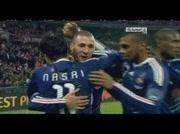 Angleterre 1-2 France ( goal benzema 16e)