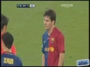 Messi: Attrape moi si tu peux...