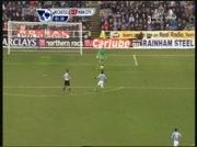 Newcastle 0-1 Manchester City   But de Barry 2e