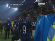 Inter Milan 2-1 AS Rome | But de Etoo 35e