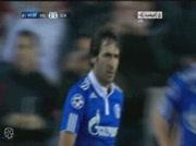 Valence 1-1 Schalke | But Raul 64e